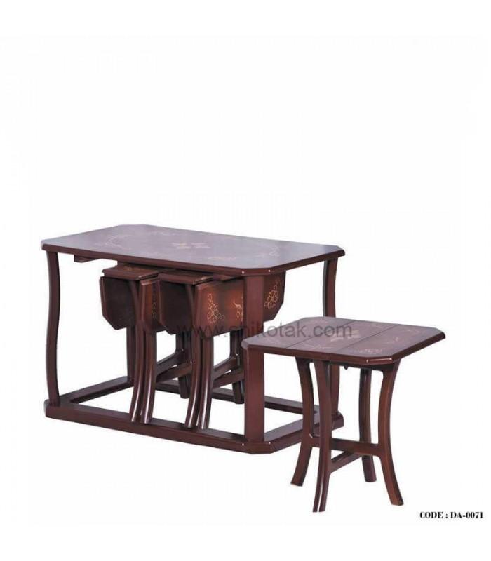 میز جلو مبلی و عسلی تاشو سری0071
