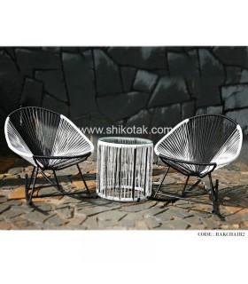میز و صندلی حیاط سری RAKCHAIR2