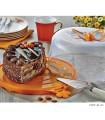 کیک خوری بدون پایه طرح پروانه