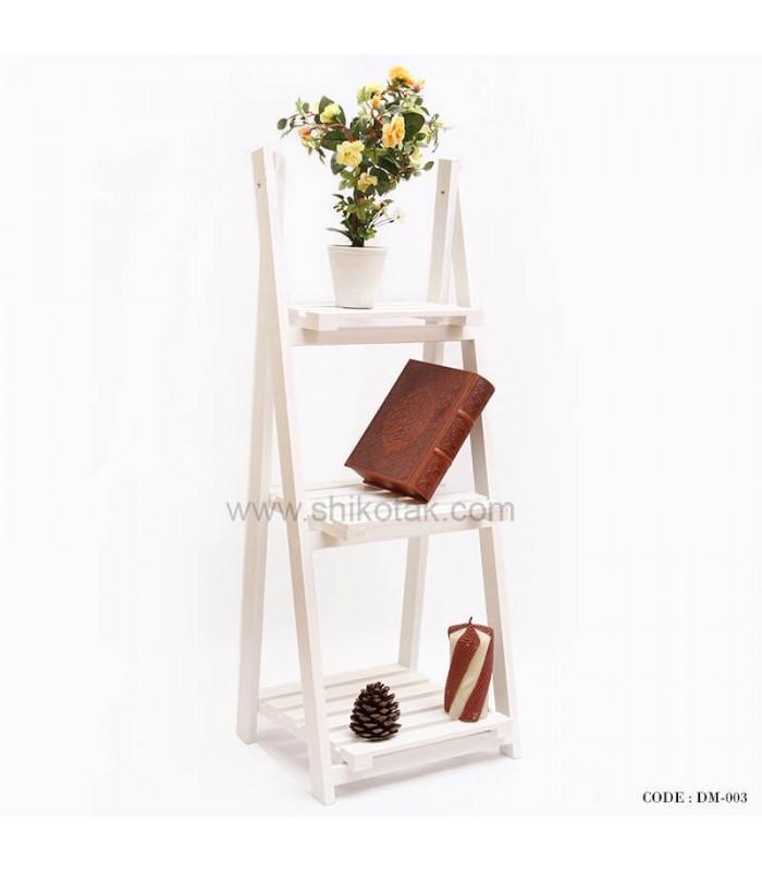 مدل جاگلدانی طرح نردبان 3 طبقه PVC