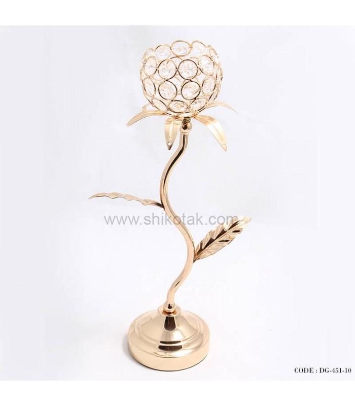 خرید اینترنتی شمعدان گل الماس برگ دار