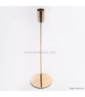 پایه شمع طلایی