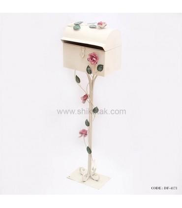 صندوق پست تزئینی طرح گل