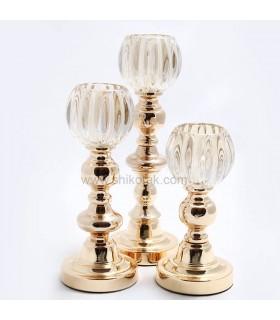 جاشمعی سه تایی طلایی