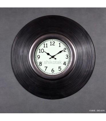ساعت دیواری طرح صفحه گرام