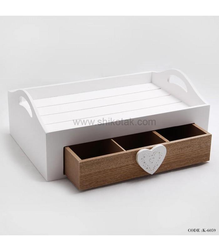 مدل جا قاشقی چوبی