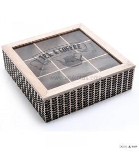 جعبه چای کیسه ای 9 تایی
