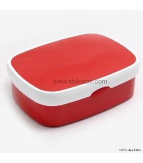 ظرف نگهدارنده غذا پلاستیکی قرمز Rosti
