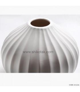 خرید اینترنتی گلدان سفید مدرن