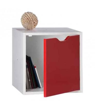 قفسه کتاب مدل کندوان درب دار