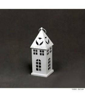 فانوس فلزی تزئینی طرح خانه