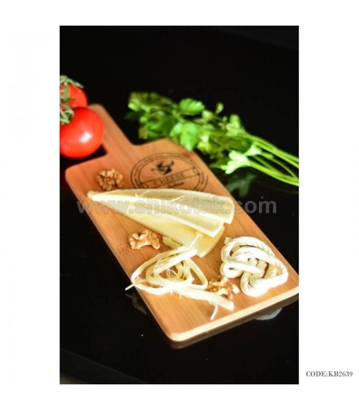 تصویر تخته گوشت چوبی مدل Cheddar