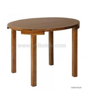 میز چوبی چهارنفره کم جا  سری 436