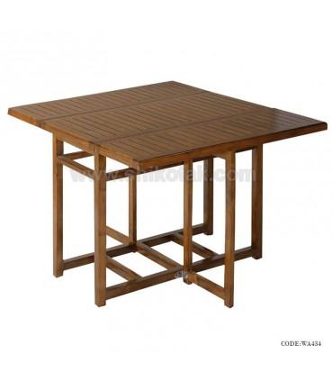 میز تاشو شش نفره چوبی سری 434