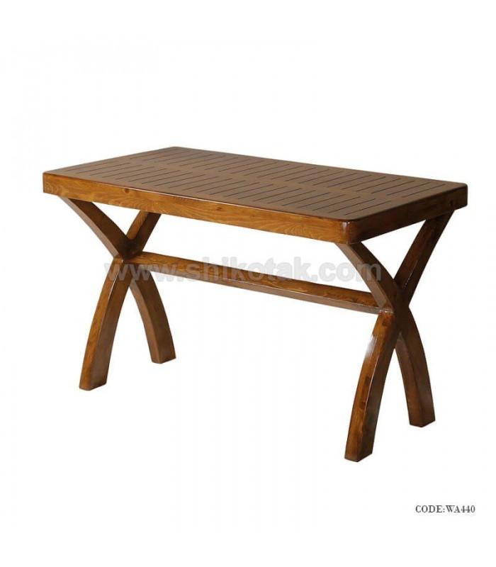 میز چوبی دونفره جدید سری 440