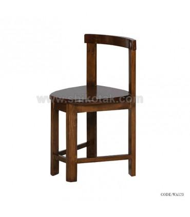 صندلی چوبی کمجا سری 123