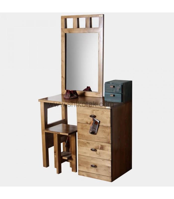 مدل جدید نیمکت چوبی دله وس کوتاه مربع