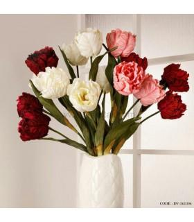 گل مصنوعی شاخه ای لاله باز