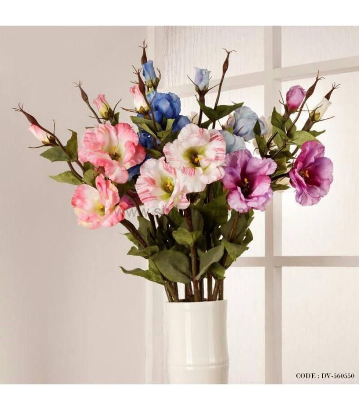 گل مصنوعی شاخه ای لوسیانتوس