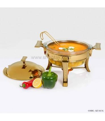 سوپ خوری دایموند طلایی سایز متوسط