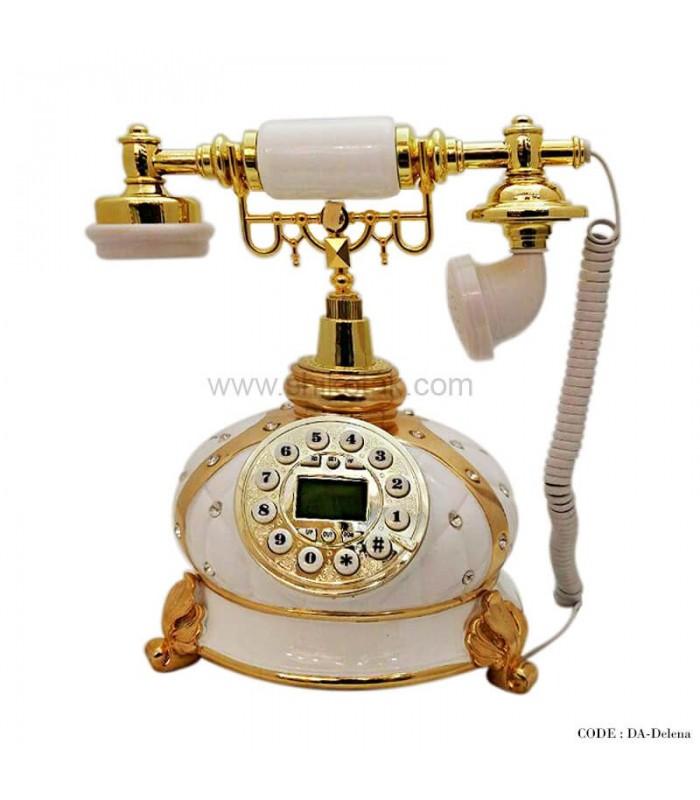 تلفن طرح کلاسیک سری Delena سفید