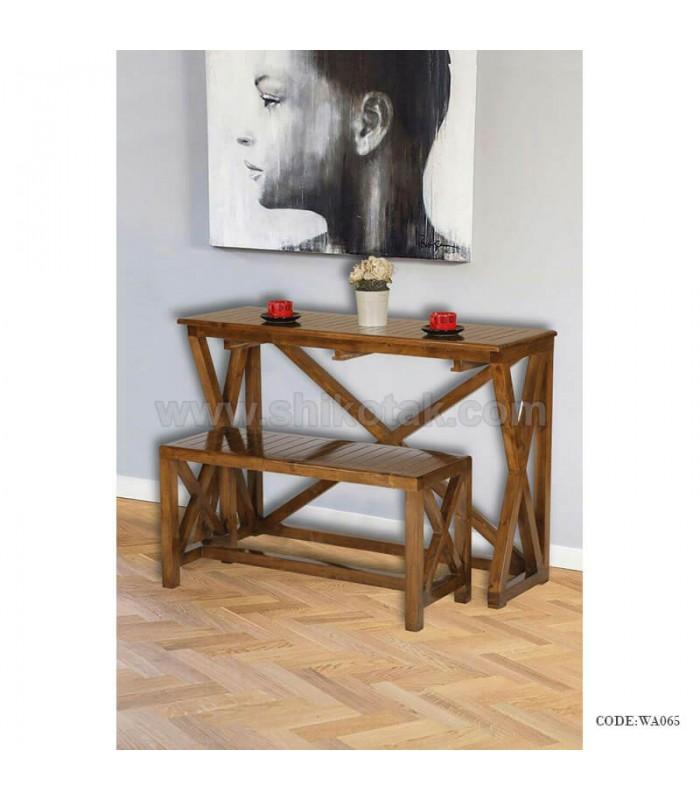 خرید میز ناهارخوری چوبی