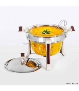 سوپ خوری سیلور طرح چوب سری 500 بزرگ