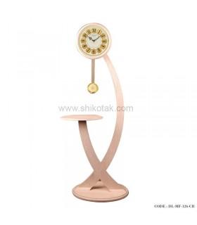 فروش آنلاین ساعت ایستاده مدرن سری 126 فلور کرم