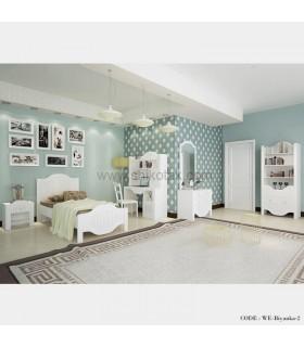 سرویس تخت خواب نوجوان-جوان سفید مدل بیانکا