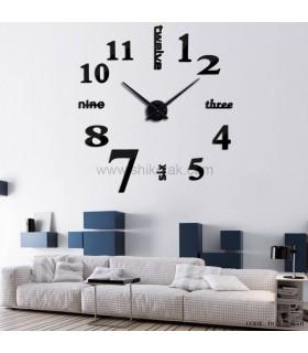 ساعت فانتزی مدرن مشکی