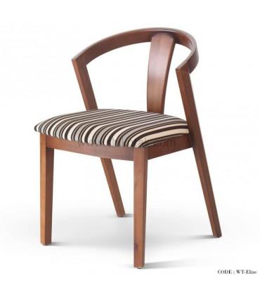 صندلی چوبی مدل Elize تولیکا