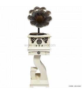 گرامافون رومیزی فلش خور لاکچری سری 062
