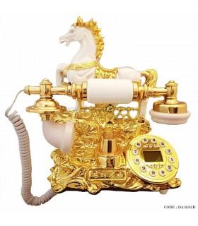 تلفن رومیزی سلطنتی طرح اسب سری 8301