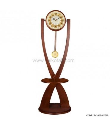 ساعت ایستاده پاندول دار سری 125 فلور قهوه ای