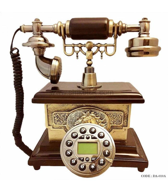 تلفن طرح قدیمی چوبی سری 010