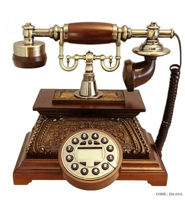 تلفن دکوری چوبی سری 0511
