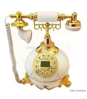 تلفن سلطنتی دکوری طلایی سری 0601