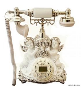تلفن کلاسیک رومیزی طرح فرشته سری 8334