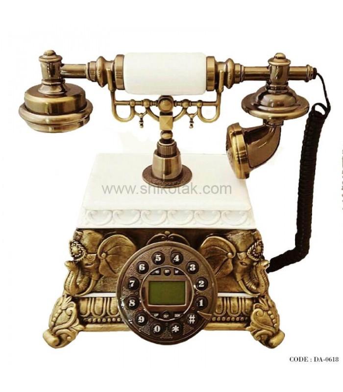 تلفن رومیزی نوستالژیک سری 0618