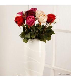گل رز مصنوعی شاخه ای