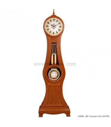 ساعت ایستاده چوبی قهوه ای طرح ورونیکا