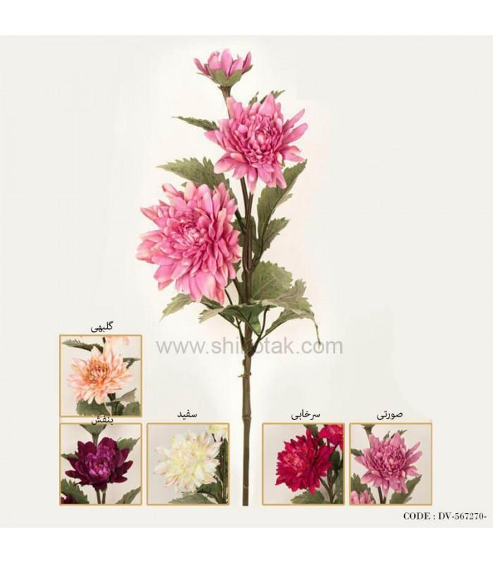خرید گل مصنوعی شاخه ای نیلوفر