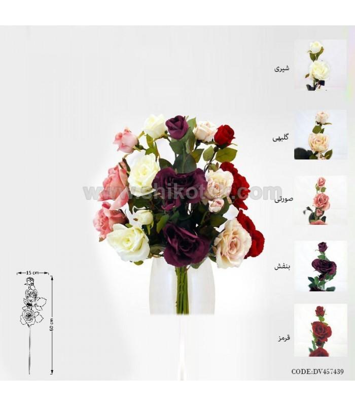 خرید گل مصنوعی رز انگلیسی