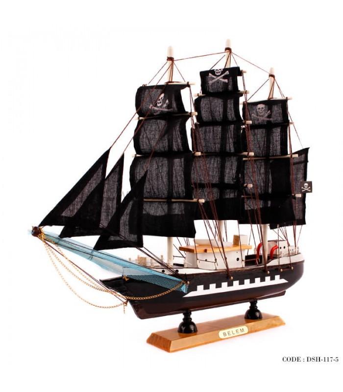 کشتی چوبی دکوری سری 5-117