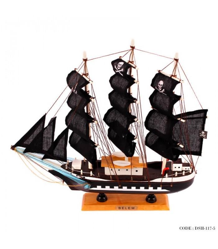 کشتی چوبی دکوری جدید