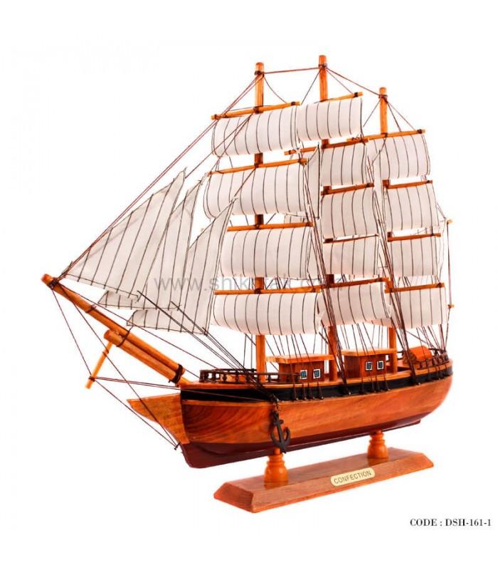 ارسال کشتی تزئینی تمام چوب