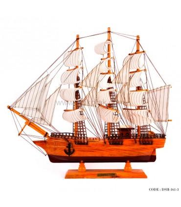 کشتی بادبانی چوبی سری 3-161