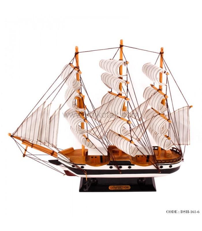 مدل کشتی دکوری چوبی سری 6-161