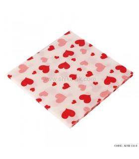 دستمال کاغذی طرح قلب
