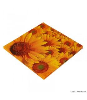 دستمال کاغذی گل آفتابگردان